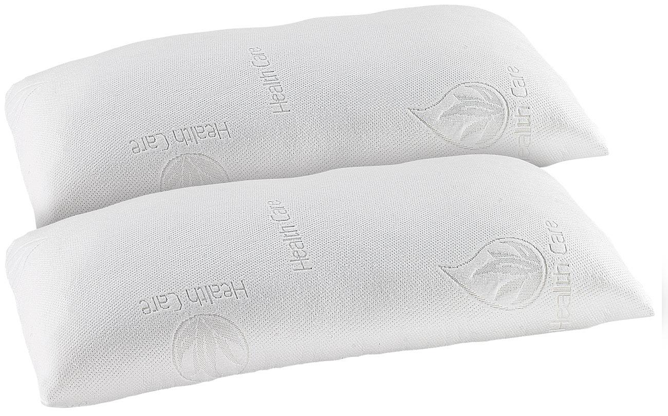 Pearl Schweiz Set Di 2 Cuscini Comfort Xl In Schiuma A Memoria Di Forma Termoattiva